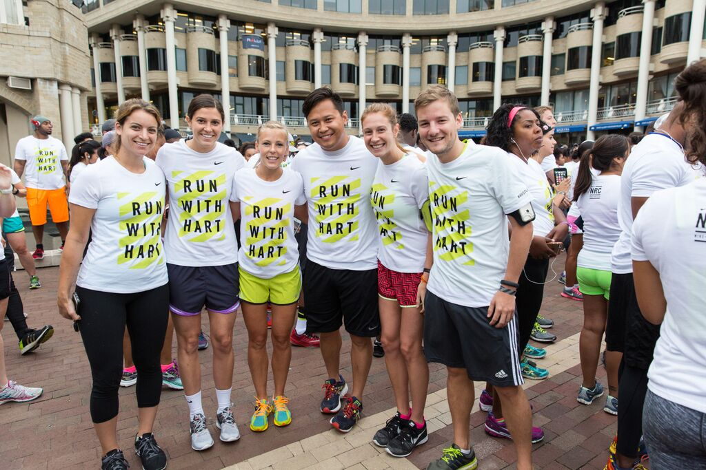 The whole gang, minus Tricia. (Photo Credit: Nike)